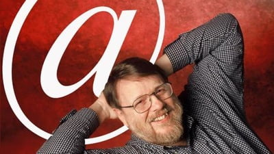 Ray tomlinson first email at sign large